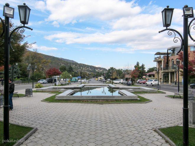 Площадь в Мцхете