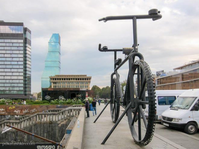 Велосипед в Тбилиси