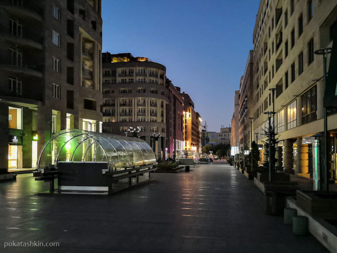 Рассвет в Ереване