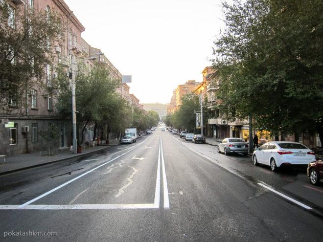 Улицы Еревана