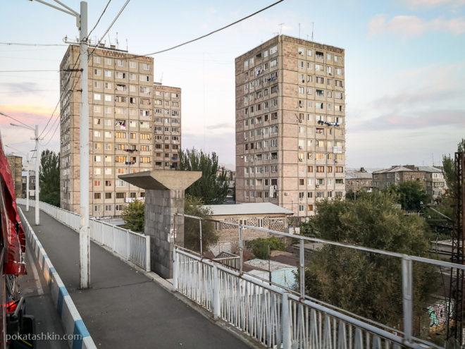 Многоэтажные дома без балконов (Ереван)