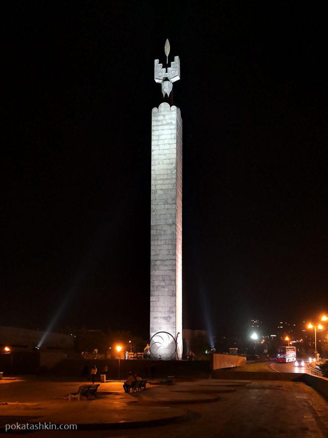 Памятник 50-летию Октябрьской революции (Ереван)