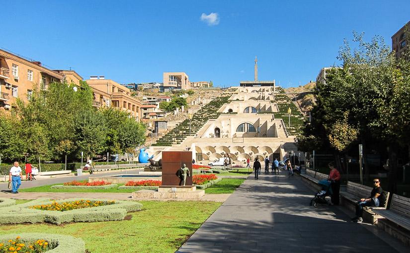 Ереван. День 2. Комплекс «Каскад», центр искусств Гафесчяна