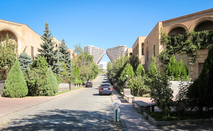 Ереван. День 2. Северный Луч, Ереванский автомобильный завод, парк Ахтанак