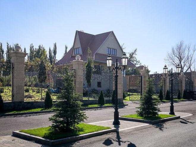 Частная застройка в Ереване