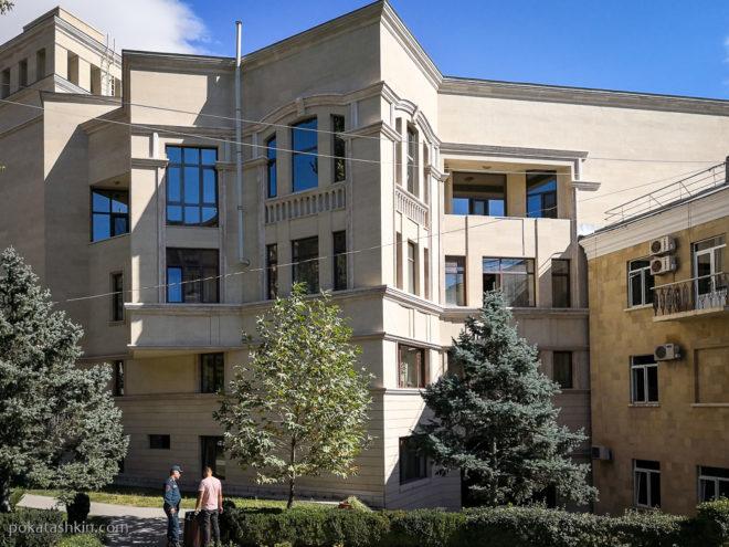 Резиденция президента (премьер-министра) в Ереване