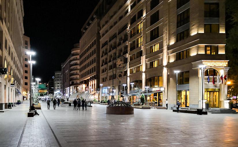 Ереван. День 2. Ночной город