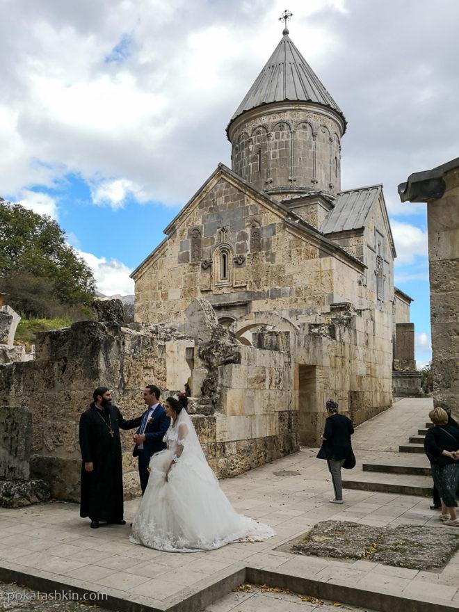 Свадьба в монастыре Агарцин
