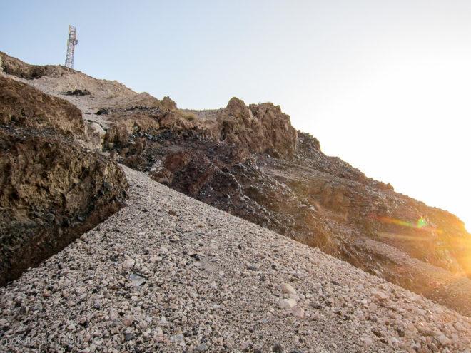 Месторождение обсидиана в Армении