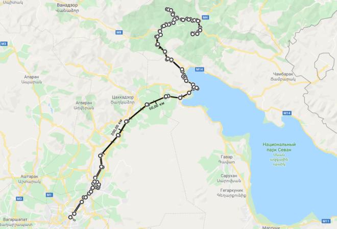 Маршрут 3-го дня в Ереване